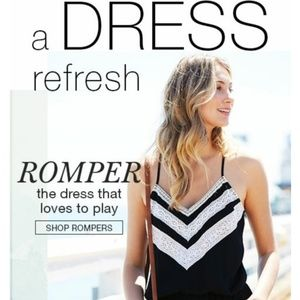 Maurices Black Romer with Lace Detail